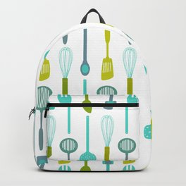 AFE Kitchen Utensils Pattern Backpack