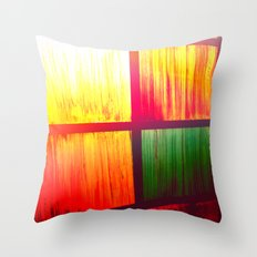 Stain Glass Throw Pillow