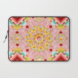 Pink Paisley Sunshine Laptop Sleeve