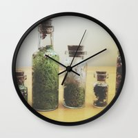 oasis Wall Clocks featuring Oasis by Shiroshi