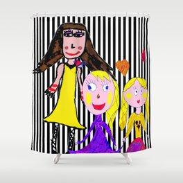 Girls by Elisavet | Friends #society6 Shower Curtain