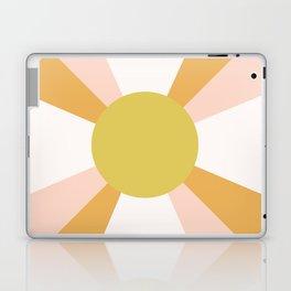 Retro Sun Rays - Morning Light Laptop & iPad Skin