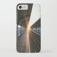 jewish iPhone & iPod Cases featuring The light at the end of the tunnel by Brown Eyed Lady