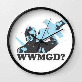 What would MacGyver Do? Wall Clock