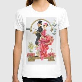 12,000pixel-500dpi - Joseph Christian Leyendecker - Easter Couple - Digital Remastered Edition T-shirt
