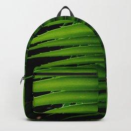 Palm tree leaf - tropical decor Backpack