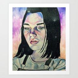 Lauren Art Print