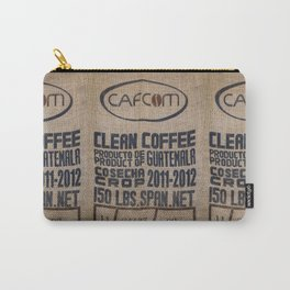 Guatemala - Burlap Coffee Bag Carry-All Pouch