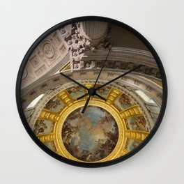 Above Napoleon Bonaparte - Look Up Series Wall Clock