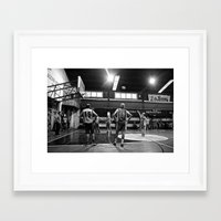 chile Framed Art Prints featuring Basketball Chile by The Missionary Photographer