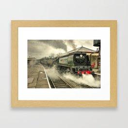 City of Wells Framed Art Print