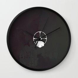 headshot perk Wall Clock