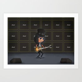 Slash Art Print