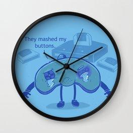Button Mashing: Victim-less Crime? Wall Clock