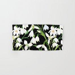Snowdrop Floral Hand & Bath Towel