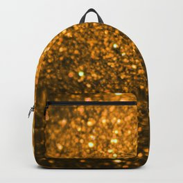 Sparkling Gold Glitter Backpack