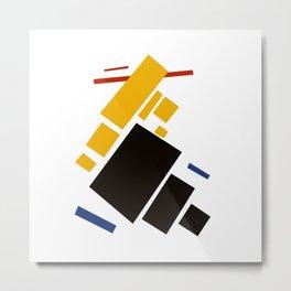 Geometric Abstract Malevic #11 Metal Print