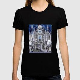 Hot Rod Blue, Automotive Art with Lots of Chrome by Murray Bolesta T-shirt