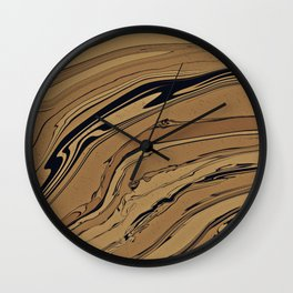 Topaz and Sandstone Wall Clock