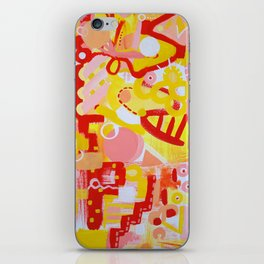 Naked. Loving. Joyful. iPhone Skin