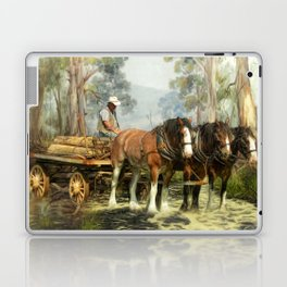 Clydesdale Timber Team Laptop & iPad Skin