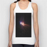 racing Tank Tops featuring UFO Racing by Jorgenson Art Syndicate