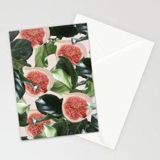 Figs & Leaves #society6 #decor #buyart Stationery Cards