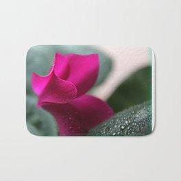 Flower Furls Cyclamen Bath Mat