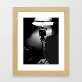 Film Noir Father Framed Art Print