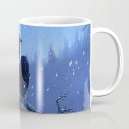 Winter Ravens Coffee Mug