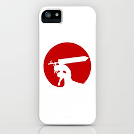 Berserk red moon armor iPhone Case