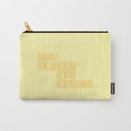 Sunscreen & Eye Cream Carry-All Pouch