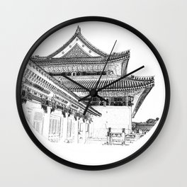On the Edge of Time Wall Clock
