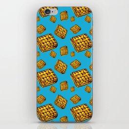 Waffle morning iPhone Skin