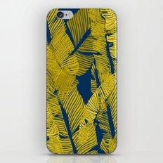 Carved Yellow&Blue Jungle #society6 #decor #buyart iPhone Skin