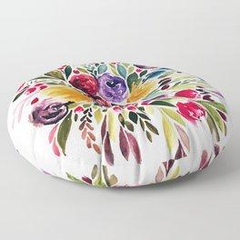 Florals I Floor Pillow