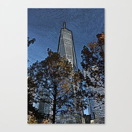 freedom in autumn Canvas Print