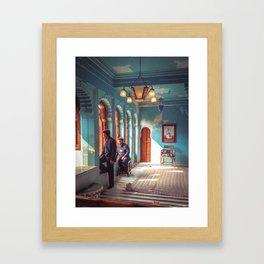 Indian Palace Gaurds Framed Art Print