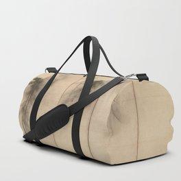 Pine Trees Six-Fold Azuchi-Momoyama Period Japanese Screen - Hasegawa Tohaku Duffle Bag