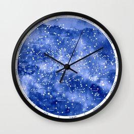 Northern Stars Wall Clock