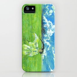 August - Indication of rain - iPhone Case