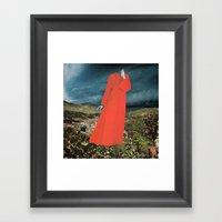 HAUNTING Framed Art Print