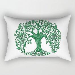 Tree of life green Rectangular Pillow