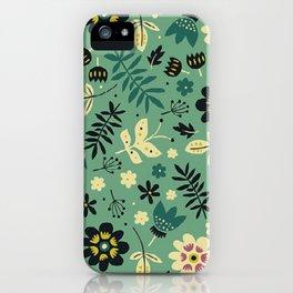 As flores do seu jardim iPhone Case