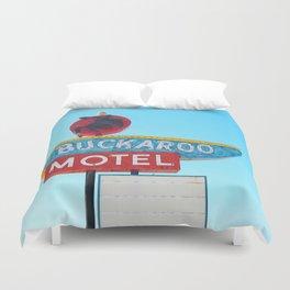 Buckaroo Motel Duvet Cover
