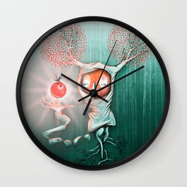 Natural Fruit Wall Clock