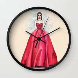 Elie Saab haute couture SS14 Wall Clock