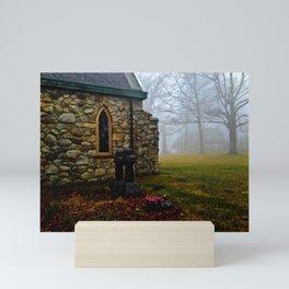 Stone Church Mini Art Print