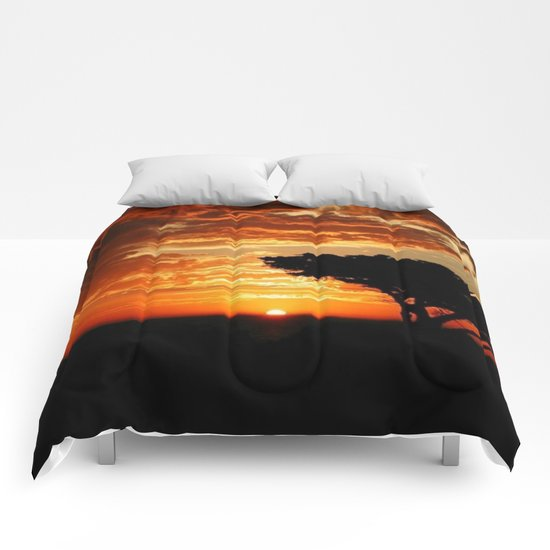 Fiery Dragon Comforters