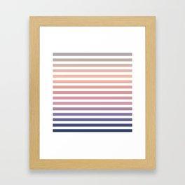 Soothing summer vibes Framed Art Print